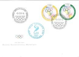 C.I.O POSTMARKET   VILLE CANDIDATE  PYONG CHANG - Juegos Olímpicos