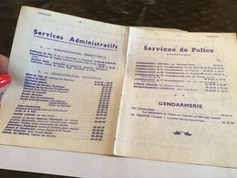 Toulon Service Administratif Services De Police Gendarmerie La Valette Hôtel De Ville Cabinet Du Maire Secrétariat Génér - France