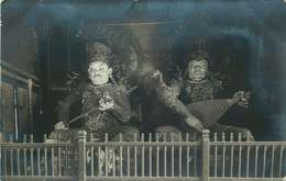 ASIE  CHINE (carte Photo Année 1930/40)  TEMPLE JAUNE - China