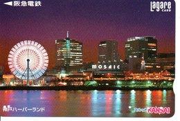 Manège Caroussel  Carte Prépayée Japon  Card  (G 61) - Paysages
