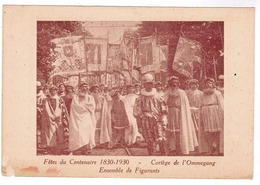 Brussel, Bruxelles, Fêtes Du Centenaire, 1830-1930 Cortege De L'Ommegang (pk52913) - Feesten En Evenementen