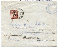 RC 11319 CROISEUR JEANNE D'ARC 1936 ESCALE A TRISTAN DA CUNHA POUR LA FRANCE RARE TB - Seepost