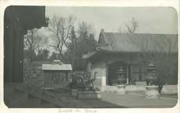 ASIE  CHINE (carte Photo Année 1930/40)  TEMPLE DES LAMAS - Chine