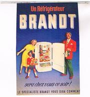 PUBLICITE CPM  REFIGERATEUR BRANDT 1950 - Publicité