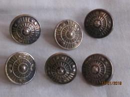 Ethiopie Bouton Uniforme De La Garde Impériale (Kabour Zabagna) - Vente à La Pièce / By Piece - Buttons