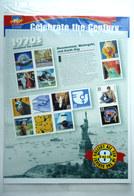 BLOC TIMBRES CELEBRATES THE CENTURY 1970 's - United States
