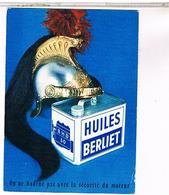 PUBLICITE CPM  CAMION BERLIET HUILES - Publicité
