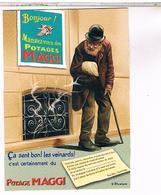 PUBLICITE CPM  MAGGI 1909 - Publicité