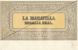 1893-1894 Grande étiquette Boite à Cigare Havane LA MARAVILLA - Etichette