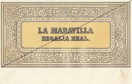 1893-1894 Grande étiquette Boite à Cigare Havane LA MARAVILLA - Etiquettes