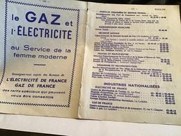 Toulon Le Gaz Et L'électricité Au Service De La Femme Moderne électricité De France Gaze De France Ponts Et Chaussées - France