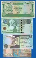 Libye  4  Billets - Libye