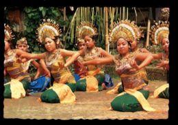 C471 INDONESIA - BALI - COSTUMES FOLKLORE ETHNICS PEOPLE SCENES - JANGER DANCE  BALLET DANCERS WOMEN - Indonesia