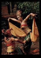 C478 INDONESIA - FOLKLORE SCENES ETHNICS COSTUMES WOMEN - LEGONG DANCE - Indonésie