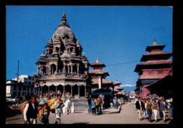C484 NEPAL - PATAN - DURBAR SQUARE 1981 - Nepal