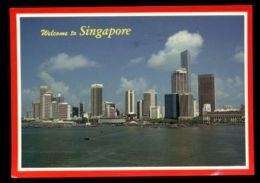 C487 SINGAPORE - SKYLINE AT THE WATERFRONT - Singapore