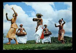 C499 SRI LANKA (CEYLON) - COSTUMES ETHNICS OLKLORE SCENES - KANDYAN DANCERS - Sri Lanka (Ceylon)