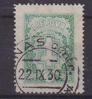 LITUANIE : N° 269 . OBL . FIL B . TB . 1930 . - Lituanie