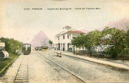 INDOCHINE(THANH MOI) GARE(TRAIN) - Viêt-Nam