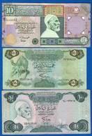 Libye  3  Billets - Libye