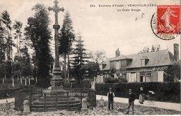 VEAUVILLE-les-BAONS.--  La Croix-rouge - France