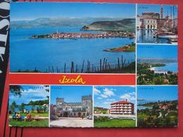 Izola / Isola D'Istria - Mehrbildkarte / Piran, Portoroz, Strunjan, Koper, Ankaran - Slovenia