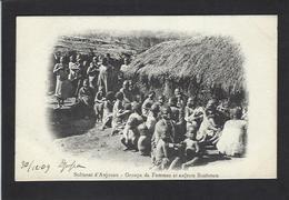 CPA Comores Type Anjouan écrite Non Circulé - Comores