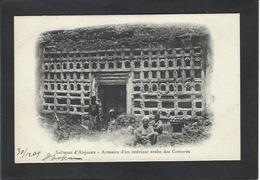 CPA Comores Type Anjouan écrite Non Circulé - Comoros