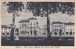 CARTOLINA - POSTCARD - PADOVA - VIA LUCA BELLUDI DAL PRATO DELLA VALLE - Padova