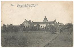 Mater Algemeene Zicht Op 't Klooster Oude Postkaart Oudenaerde - Oudenaarde
