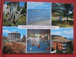 "Izola / Isola D'Istria - Mehrbildkarte ""Simonov Zaliv - Izola"" - Slovénie"