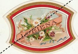 1893-1894 étiquette Boite à Cigare Havane LORIENA - Etichette