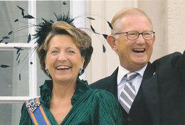 DP00642 - NETHERLANDS - DUTCH ROYALTY - PRINCESS MARGRIET MR. P. VAN VOLLENHOVEN - ROYAL FAMILY CP ORIG. ROYAL PRESS 178 - Familles Royales