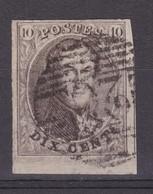 N° 10 Margé Bord De Feuille Voisin - 1858-1862 Médaillons (9/12)