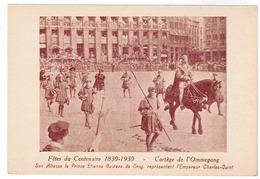 Brussel, Bruxelles, Fêtes Du Centenaire, 1830-1930 Cortege De L'Ommegang (pk52922) - Fêtes, événements