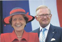 DP00643 - NETHERLANDS - DUTCH ROYALTY - PRINCESS MARGRIET MR. P. VAN VOLLENHOVEN - ROYAL FAMILY CP ORIG. ROYAL PRESS 115 - Familles Royales