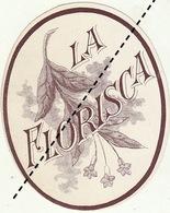 1893-1894 étiquette Boite à Cigare Havane LA FLORISCA - Etiquettes