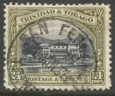 Trinidad & Tobago. 1935-37 Definitives. 24d Used. P12 SG 236 - Trinidad & Tobago (...-1961)
