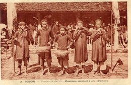 INDOCHINE(HADONG) TYPE(MUSICIEN) - Viêt-Nam