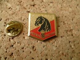PIN'S    CHEVAL FRISON - Animals