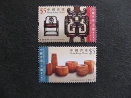 HONG-KONG : TB Paire N° 1369 Et N° 1370, Neufs XX. - 1997-... Chinese Admnistrative Region