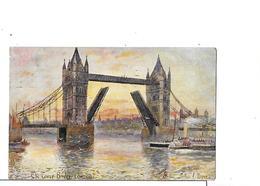 CPA Illustrateur Arthur C. PAYNE.  The Tower Bridge. London ...I0390 - Illustrateurs & Photographes