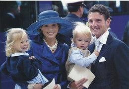 DP00647 - NETHERLANDS - DUTCH ROYALTY - PRINCE MAURITS PRINCESS MARILENE - ROYAL FAMILY - CP ORIGINAL ROYAL PRESS 156 - Familles Royales