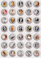 35 X Sandra Dee Movie Film Fan ART BADGE BUTTON PIN SET 2 (1inch/25mm Diameter) - Films