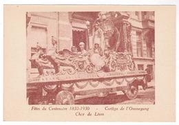 Brussel, Bruxelles, Fêtes Du Centenaire, 1830-1930 Cortege De L'Ommegang (pk52924) - Feesten En Evenementen