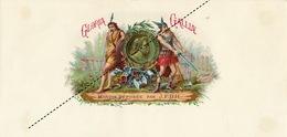 1893-1894 étiquette Boite à Cigare Havane PSCHUTT - Etiquettes