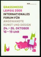 AKx Grassimesse Leipzig 2008 - Museum Für Angewandte Kunst Und Design - Museum