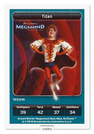 TCG - DREAMWORKS CARREFOUR - 157 - Megamind - Titan - Disney