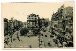 Brussel, Bruxelles, De Brouckère Plaats (pk52925) - Places, Squares