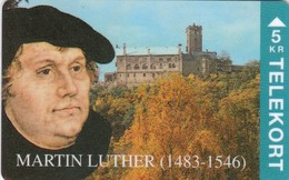 Denmark, TP 055, Martin Luther, Mint, Only 2000 Issued, 2 Scans. - Denmark